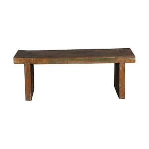 Old bench in vintage teak