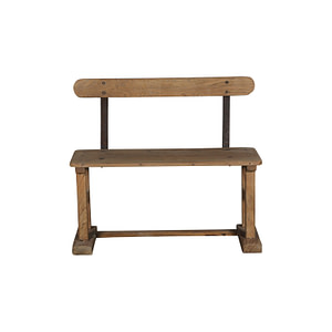 A wonderful bench in vintage teak. Perfect for outside in the hallway. 92*30*81