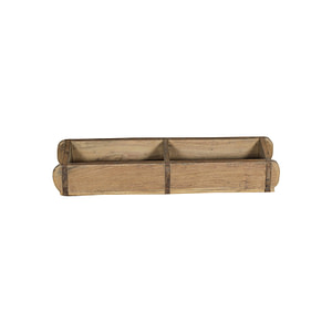 Old vintage mould for making bricks. Now perfect for your personal belonnings or as a holder for your kitchen oils and spices. Sice 58*16*9