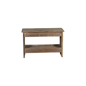 Small benches in vintage teak. Perfect outside or in the hallway or as a sidetable. Size 65*28*42