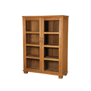 Vintage teak  cabinet with a perfect depth for storing your loved items. Size 124*57*158