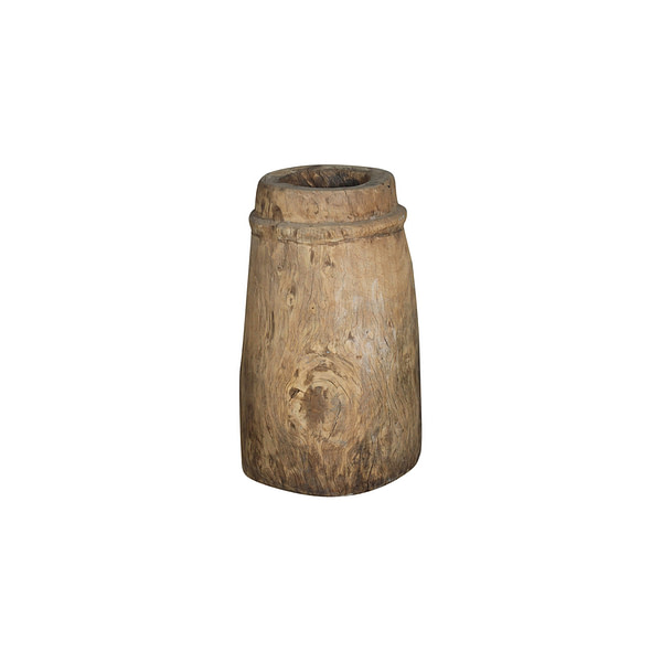Old pot in wood with a beautiful patina. All are different but approx size is 62 cm height and 33 cm in dia